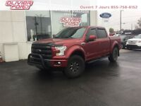Ford F-150 lariat+4x4+cuir+nav+toit pano+a/c 2015