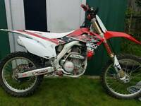 2014 honda crf 250 clean example £3300 ono