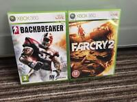 2 Xbox 360 Games for Sale