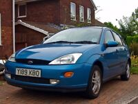 Ford Focus 2001 - drive fines but ideal for someone wanting a project