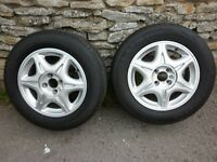 TRIKE ALLOY WHEELS AND TYRES