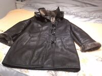 Real Sheepskin duffle coat