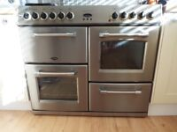 For sale, used Belling Kensington double oven