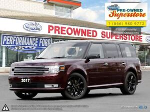 2017 Ford Flex SEL***blind spot, NAV, black roof***