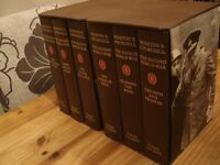 Folio Society Books - Set x 6 Books - Winston S Churchill. The Second World War