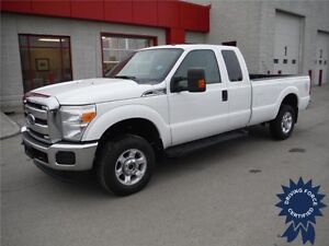 2016 Ford F250 XLT SuperCab 4WD - Only 15,400 KMs, 8 Ft Long Box