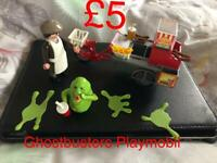 Playmobil ghostbusters set