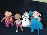 Bundle of doc mcstuffin toys