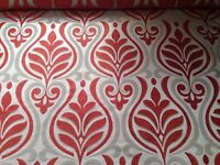 3 metres Designer Remnant Fabric for Curtains/ upholstery/ upcycling/ sewing/ crafts
