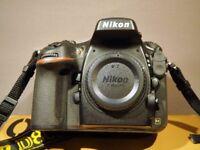 Nikon Digital SLR Camera With Lens