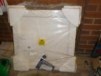 Square Cast Stone Shower Tray as new