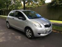 2007 Toyota Yaris 1.0 Petrol Only 42,000 Miles, lady owner, 2 keys, 3 months warranty