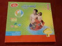 BNIB. Chad Valley water inflatable set.
