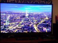 "LG 47"" led smart 3D tv"
