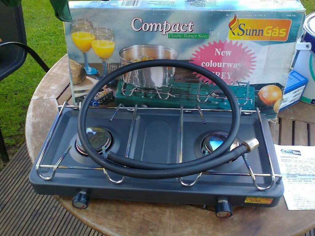 sunngas double ring camping stove boxed | in Redruth, Cornwall ...