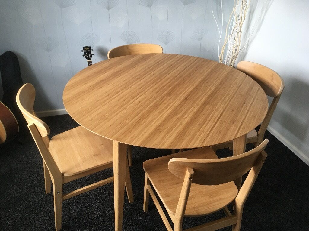 Ikea Finede dining table and chairs in Prudhoe  : 86 from www.gumtree.com size 1024 x 768 jpeg 122kB