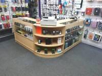 Shop display counter set