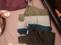 Skinny jeans (gap,h&m)