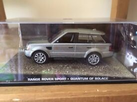 1:43 Range Rover Sport - JAMES BOND COLLECTION - Quantum of Solace - FABBRI