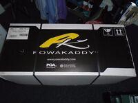 Brand new in box powakaddy electric golf trolley 2016 model with warranty