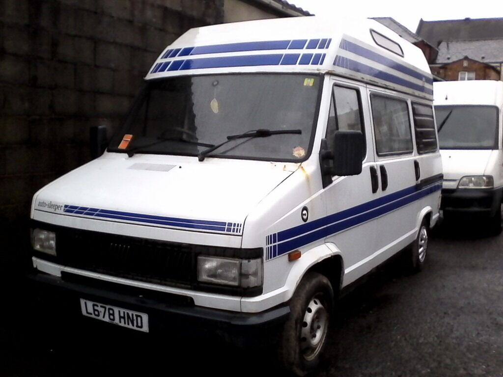 fiat ducato 2 5 diesel camper van only 51 400 miles. Black Bedroom Furniture Sets. Home Design Ideas