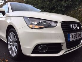 AUDI A1 1.2TFSI, AMALFI WHITE 3 DOOR ,MARCH 2014,ONLY 21210 MILES, EXCELLENT CONDITION