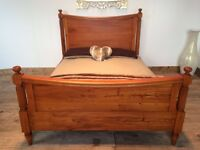 Solid Wood Bed Frame For Sale