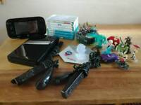 Nintendo Wii U console, games and figures