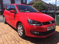 Volkswagen Polo 1.2 Match 5dr - Full Service History, MOT June 2019, 2 Keys, Low Tax, A/C, USB, MP3