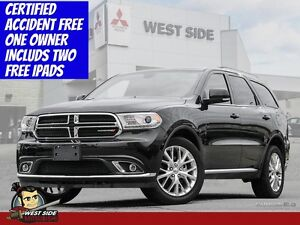 2016 Dodge Durango Limited–Accident Free–$126/Weekly 0 Down