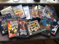 Various ps2/ps1/pc games