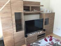 Living room furniture set with led brand new.