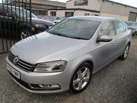 Volkswagen Passat 2.0 TDI BLUEMOTION TECH SE 4dr + FULL SERVICE HISTORY (silver) 2012
