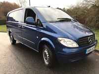 Mercedes Vito 111 CDI Long 2004 Auto Low Mileage Colour Coded Blue One Owner No VAT