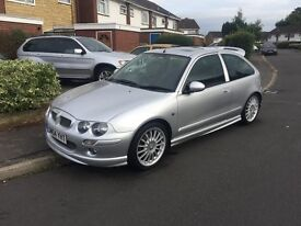 MG ZR, Head Gasket Failure, AVO Springs, Black Half Leather Interior, All Parts Available