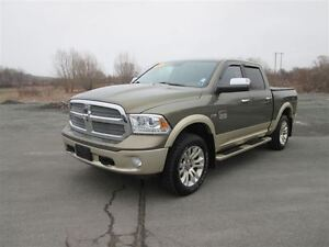 2013 Ram 1500 Laramie Longhorn.. Heated Leather Interior.. Nav S