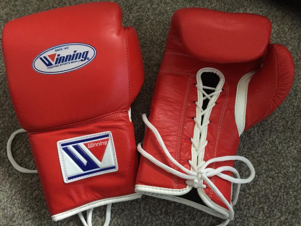 WINNING boxing gloves brand new