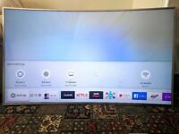 SAMSUNG 55 INCH CURVED HDR SILVER TV