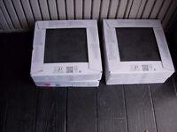 Ceramic Tiles - Black (Suitable for Bathroom/Kitchen) - Current Range Cirque at B&Q