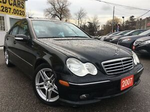 2007 Mercedes-Benz C-Class 2.5L/LEATHER/ROOF/LOADED/ALLOYS