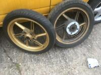 Cb500 wheels