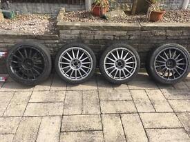 """Alloy wheels 4x100 19"""""""