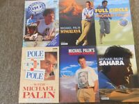 Bundle of Michael Palin Travel Books. Excellent condition 6 in series