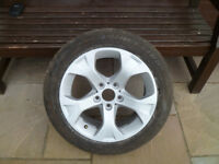 BMW X1 E84 ALLOY WHEEL AND 225 50 17 TYRE