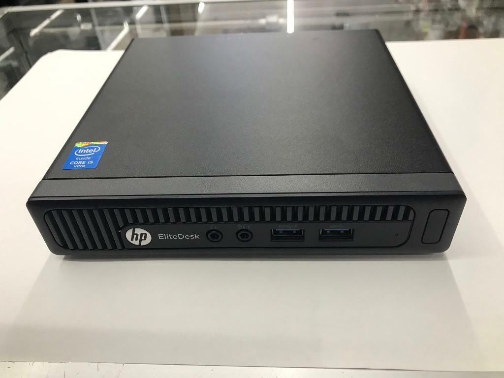 HP EliteDesk 800G1 DM PC i5 4th gen 8GB Ram 256SSD | in Whitechapel, London  | Gumtree