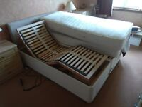 Dual Adjustable Bed for Disabled People