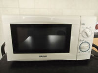 Microwave Oven and Electric Toaster