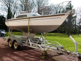 *** Fin Keel Yacht 22ft *** Superb Condition. Yacht/boat/tender