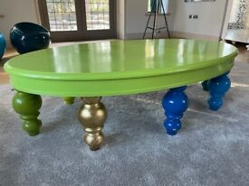 Handmade bespoke designed coffee table