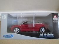 Model of Audi A4 Cabriolet.
